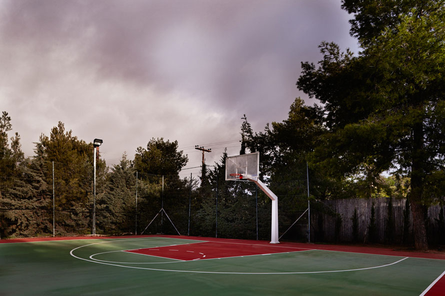 Basketball Court of Luxury Villa Irini at Porto Heli