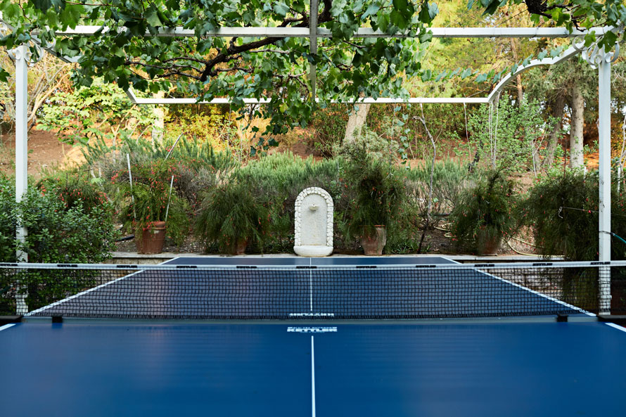 Ping Pong of Luxury Villa Irini at Porto Heli