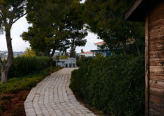 Outdoor Garden of Luxury Villa Irini at Porto Heli
